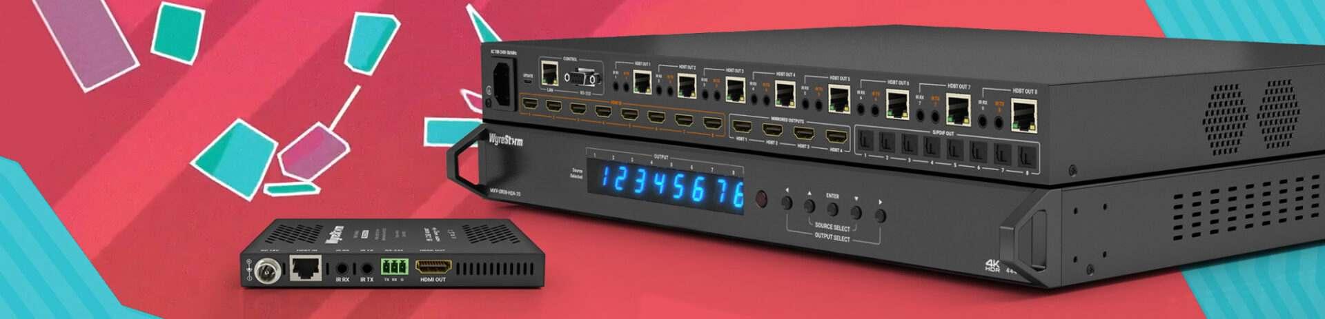 HDMI Extenders, HDMI Matrix, PiP Matrix